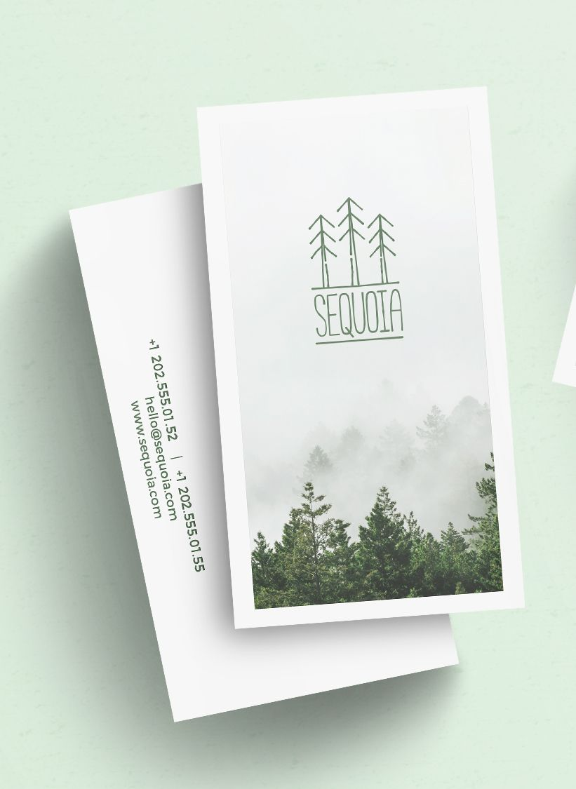 Sequoia business card template card templates illustrator cs5 and sequoia is a hipster and clean business card template with a total of 6 different card designs sequoia business cards come in two sizes 50x90mm and reheart Gallery
