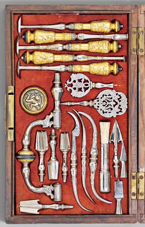 Chirurgical Instruments Trepanning Set