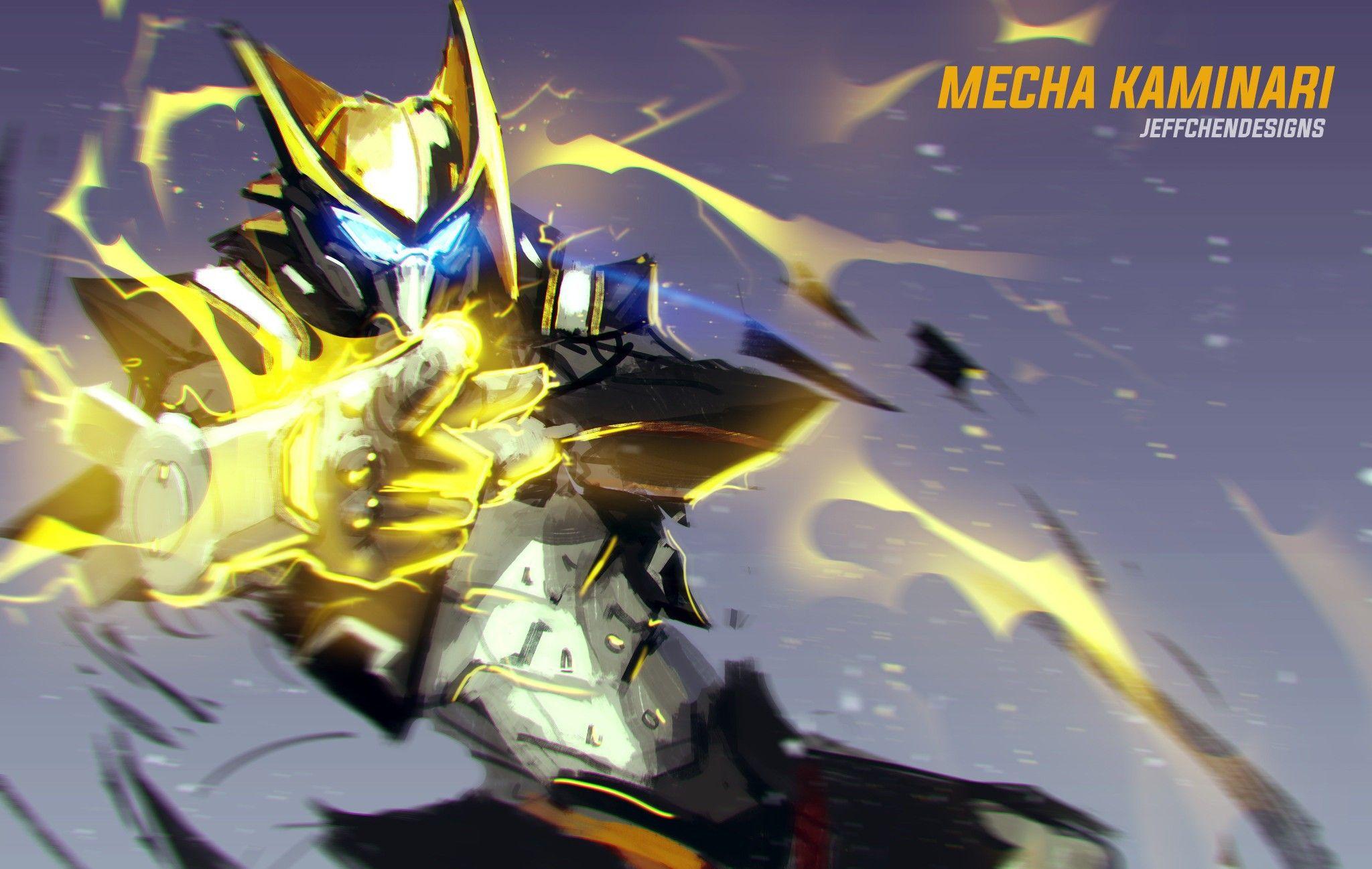 My Hero Academia Mecha Kaminari Hero My Hero Hero Academia Characters