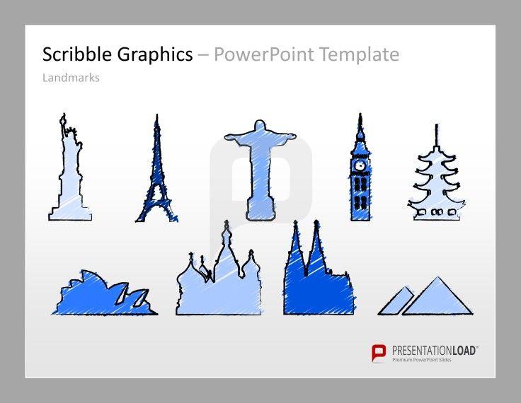 PowerPoint Hintergründe kreative Präsentationen von PresentationLoad  http://www.presentationload.de/skizzen-grafiken.html