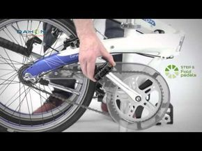 DAHON Folding Guides - YouTube