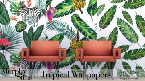 Ms Tropical Wallpapers Tropical Wallpaper Wallpaper Sims
