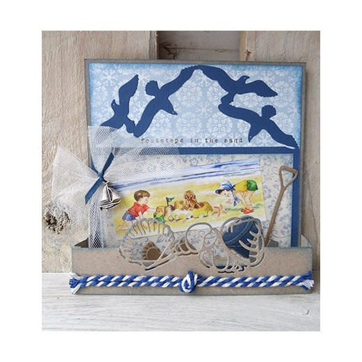 Marianne Design Craftables Cutting Die Tiny/'s Folding Seagulls CR1277
