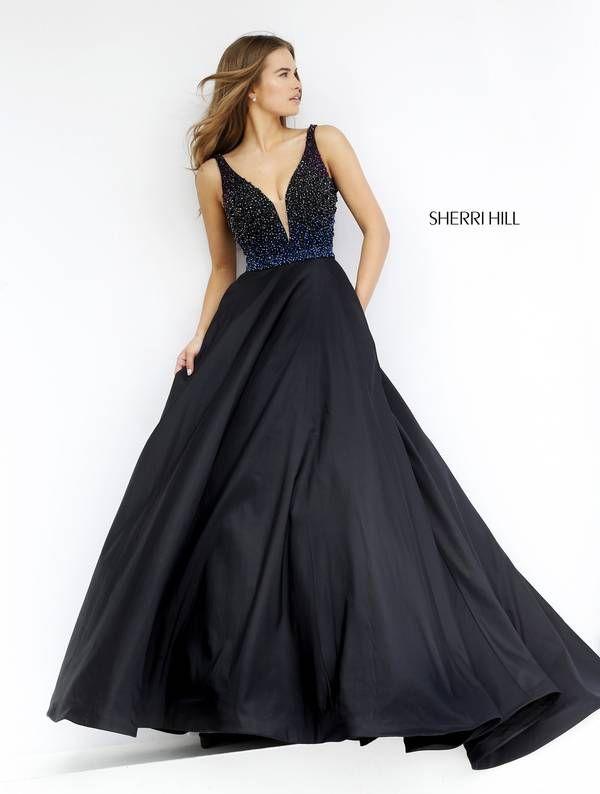 Sherri Hill 32336 black ballgown #loveit
