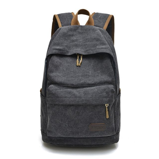 Men bag canvas bag casual shoulder bag Messenger bag Korean version of  schoolbags f89aec04ca3a1