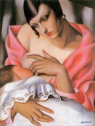 1928, Maternity, By Tamara de Lempicka