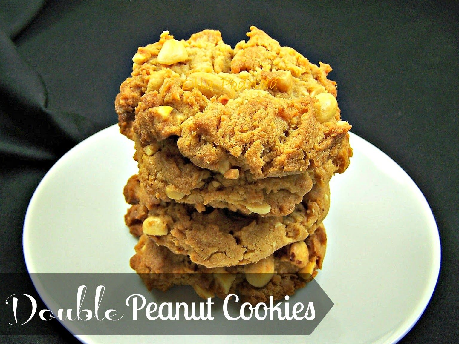 Double Peanut Cookies
