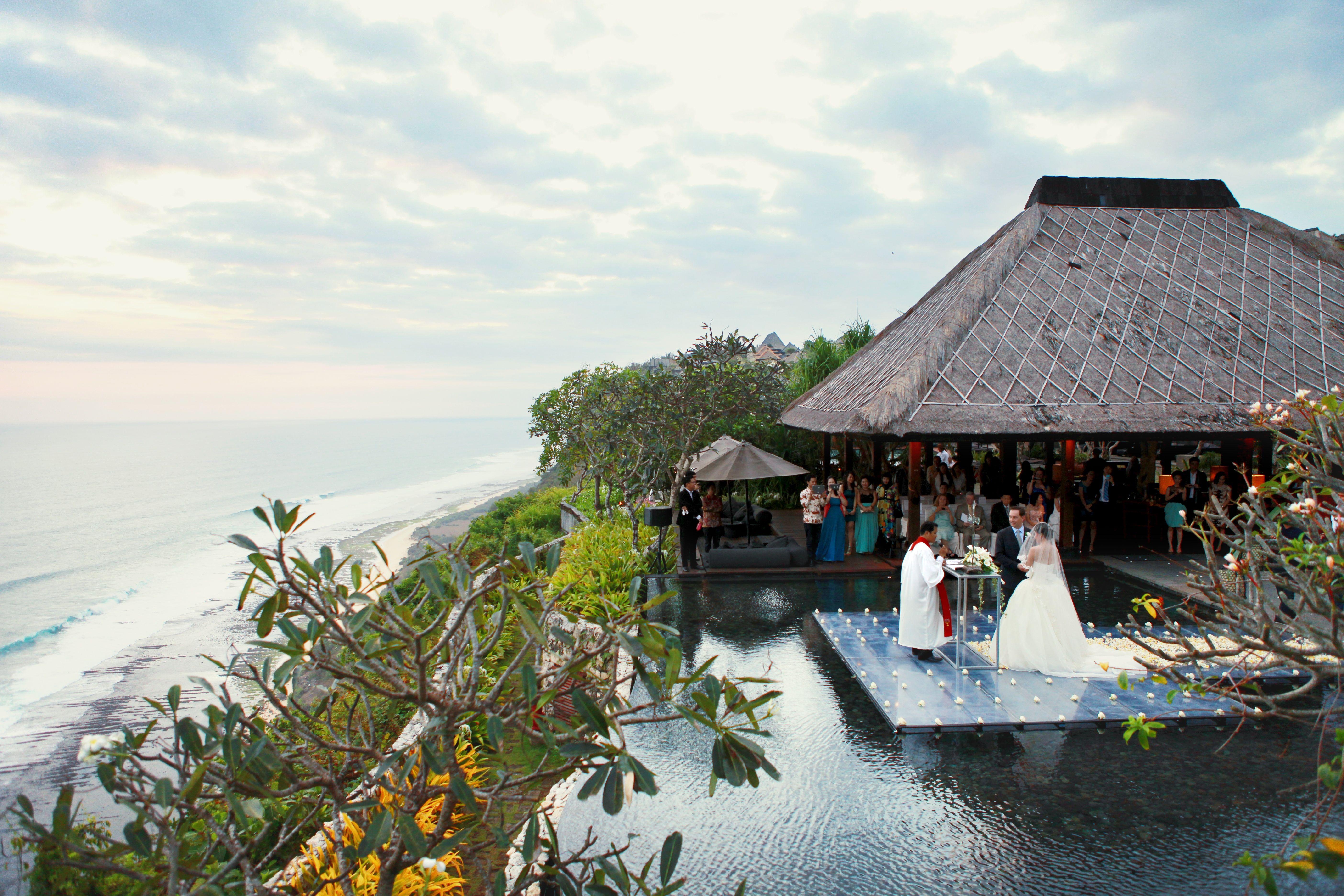 Wedding Venue Bvlgari Bali Indonesia Love