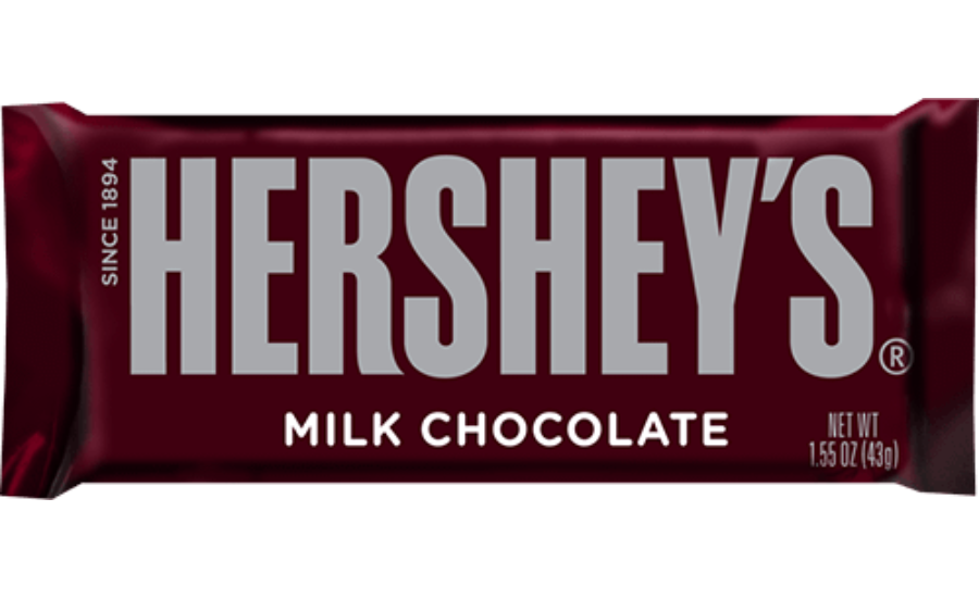 All Of The Text On The Hershey S Bar Is Sans Serif But You Can See The Leg Of The R Is Hershey S Has A Small Chocolate Manufacturers Sees Candies Hershey Bar