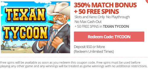 Online Casino No Rules Bonus