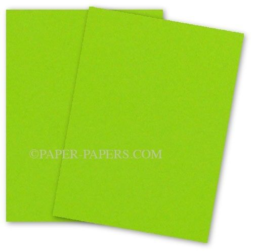 Astrobrights 8 5x11 Card Stock Paper Terra Green 65lb Cover