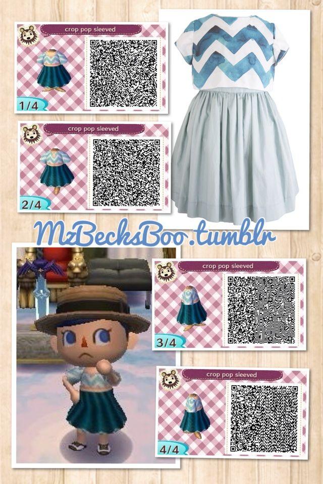 Design of summer dresses qr