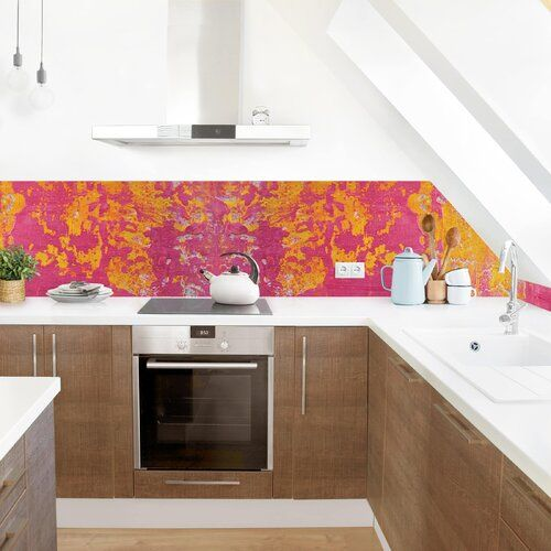 Photo of Bloomsbury Market PVC Splash Guard Panel Self Adhesive The Aristomache | Wayfair.de