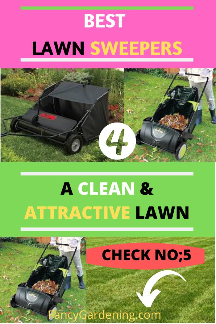 Best Lawn Sweeper 2020 Reviews Fancygardening In 2020 Lawn Sweepers Lawn Care Lawn