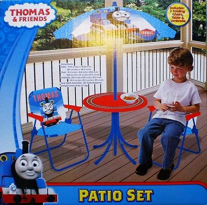 Thomas The Tank Patio Set
