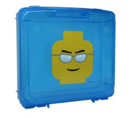 Amazon.com: IRIS LEGO Project Case with 1 Base Plate, Blue: Home & Kitchen