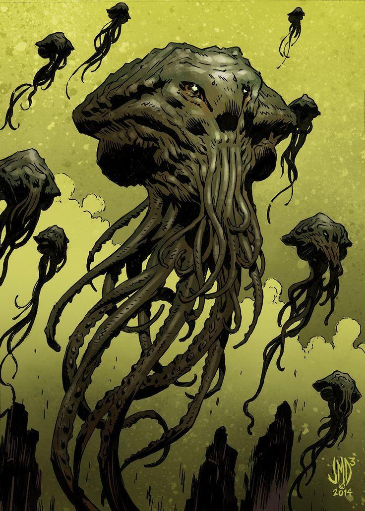 46610dcbb64c47d72890a70c18b49ff4 Scary Monsters Cthulhu Mythos 736x1031