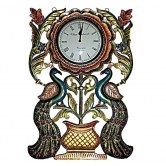 clock-on-2-design-peacock