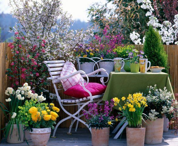 garden design with small apartment patio garden ideas spring inspiration patio with gardener gifts - Potted Plant Ideas For Patio