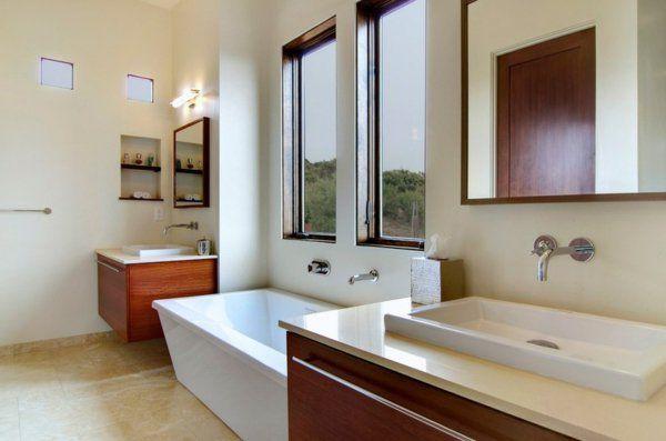 Moderne Badezimmer Ideen waschbecken unterschrank HäuserDetails - badezimmer waschbecken mit unterschrank
