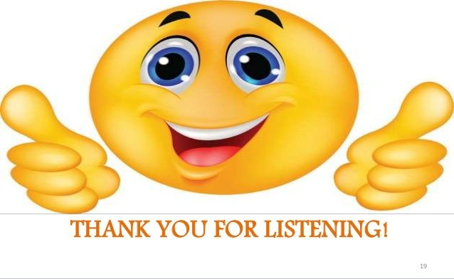 image result for thank you for listening emoji