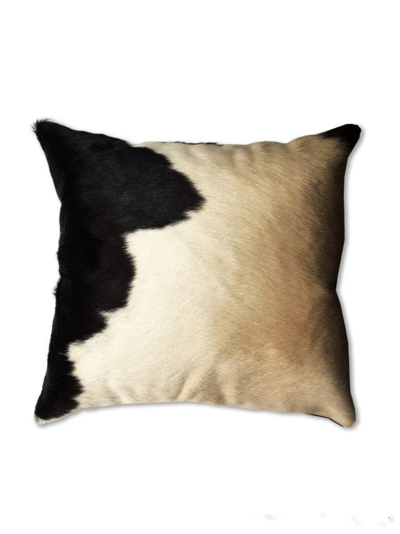 Cowhide Pillow For Home Decor Authentic Cow Hide Pillow Cases Simple Western Style Decorative Pillows