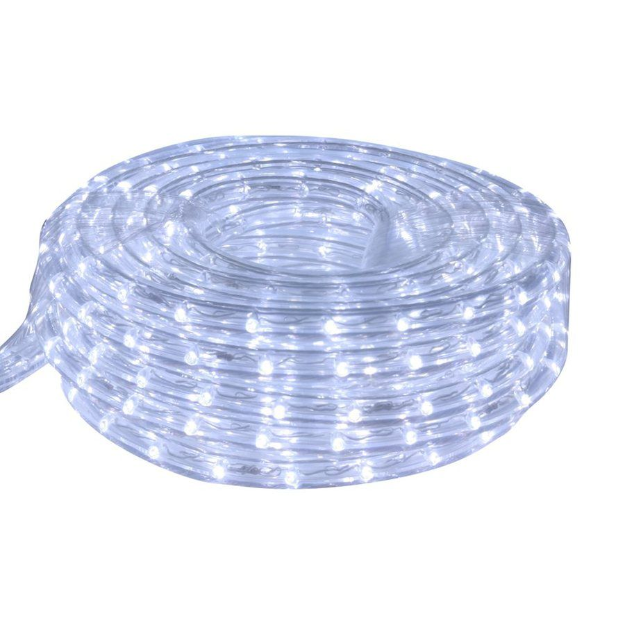 Led Rope Lights Lowes Mesmerizing Cascadia Lighting Cool White Led Rope Light Actual 9 Feet Lrled Design Ideas