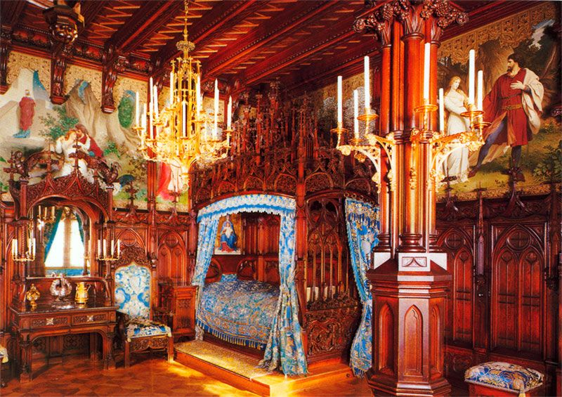 Neuschwanstein Castle Interior Map Google Search
