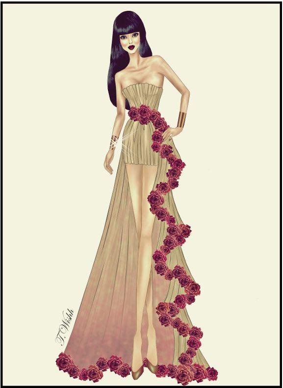 Fashion Design Dress 8. by TwISHH.deviantart.com on @deviantART ...