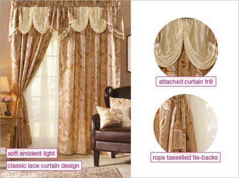 Malaysia Curtain Set | Curtains | homechoice | Curtains ...