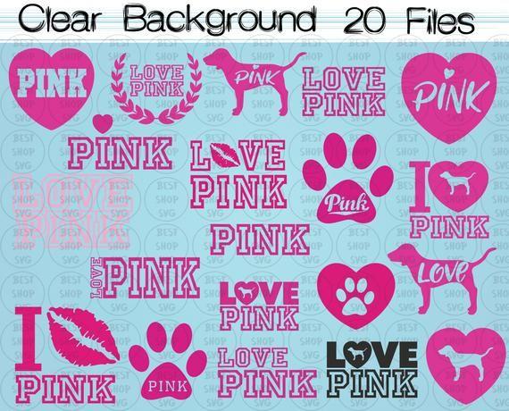 Download Love pink svg, love pink clipart, love pink VS, Love Pink ...