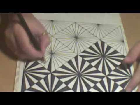 How To Draw Spirograph Pattern Art In Circle Geometric Tutorial