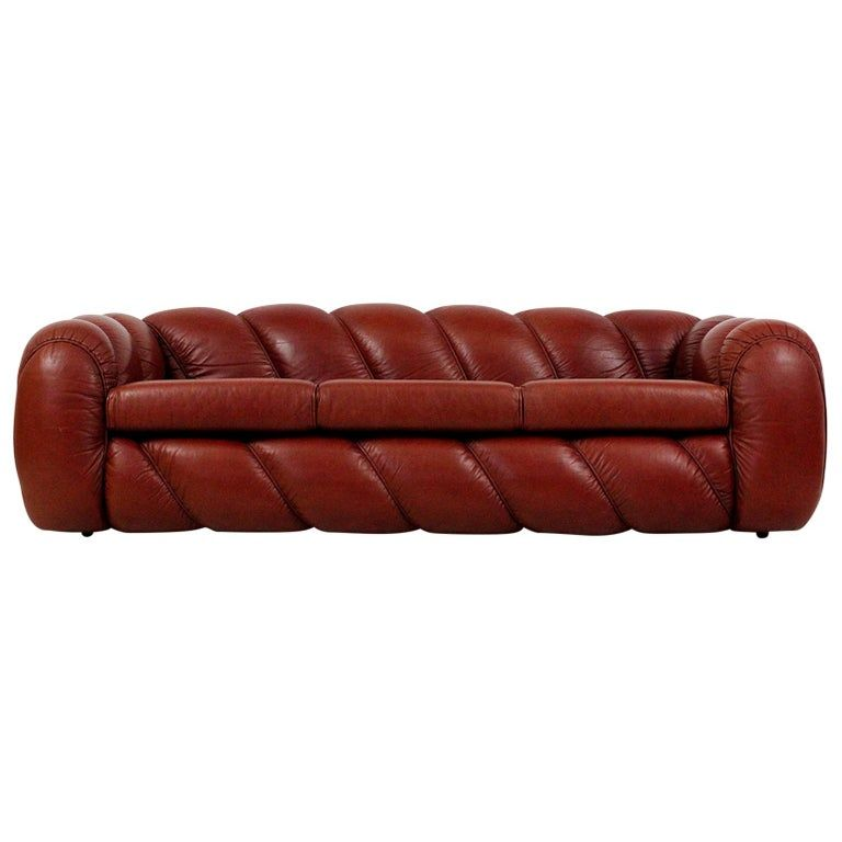 Leather Sofa By Vivai Del Sud In 2020 Italian Leather Sofa Italian Sofa Leather Sofa
