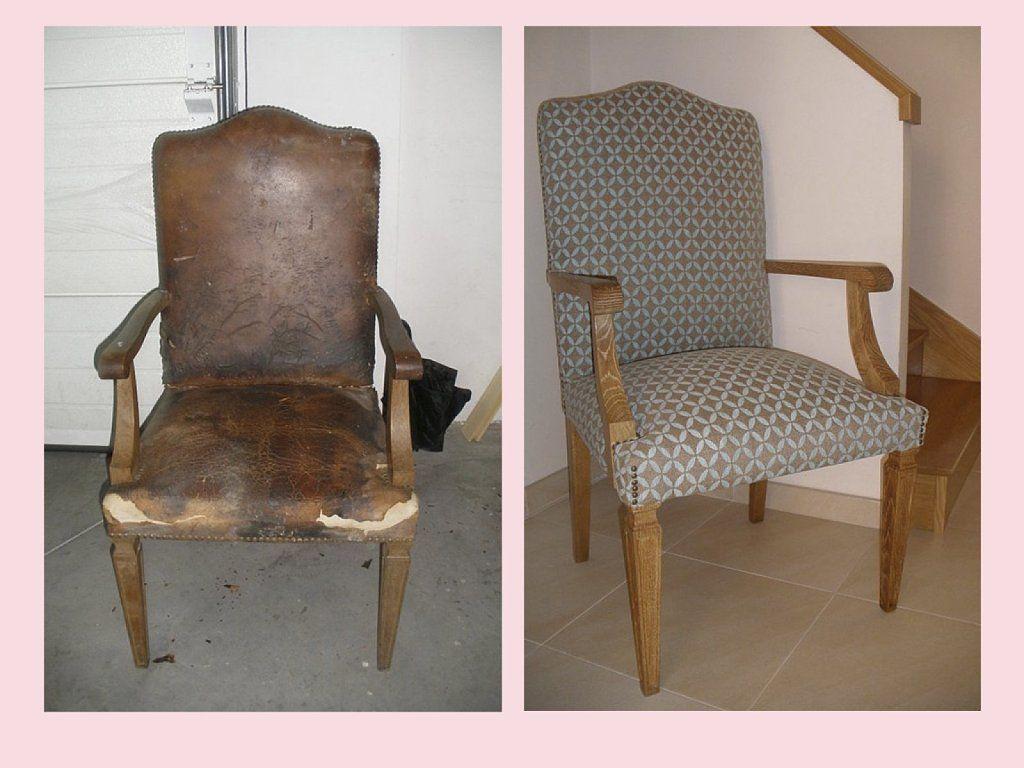 Restaurar y tunear una antigua butaca de madera butacas - Como tapizar una butaca ...