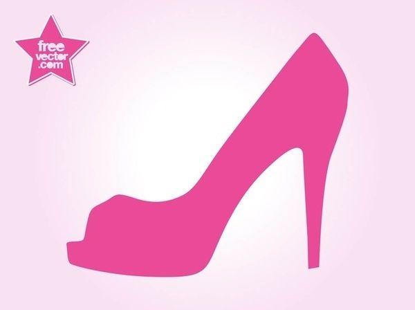 Clipart Stiletto Shoe Clipart High Heel Clipart