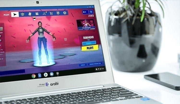 طريقة تحميل ولعب فورتنايت عبر أجهزة Chromebook بشكل صحيح عربي تك Computer Monitor Electronic Products Arabi