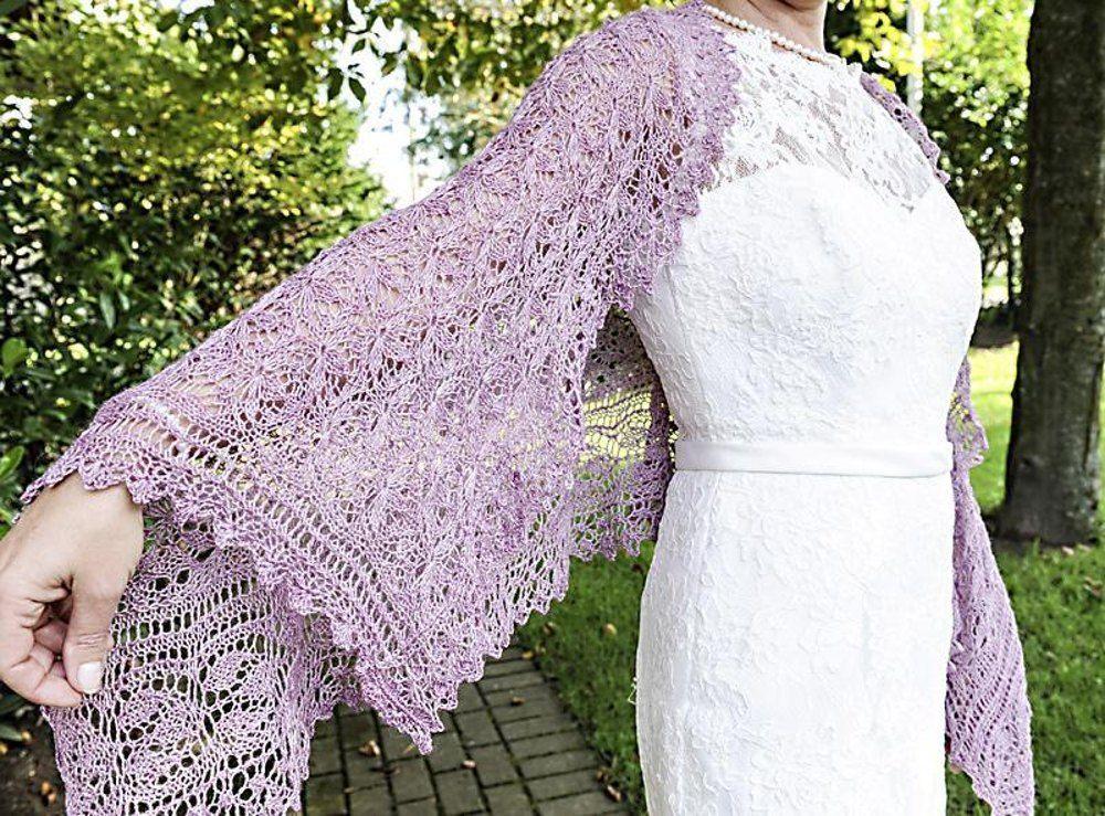 Emilia - Rectangle lace shawl Knitting pattern by Rita ...