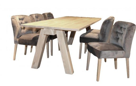Eijerkamp collectie eetkamertafel trunk eetkamertafel woonkamer