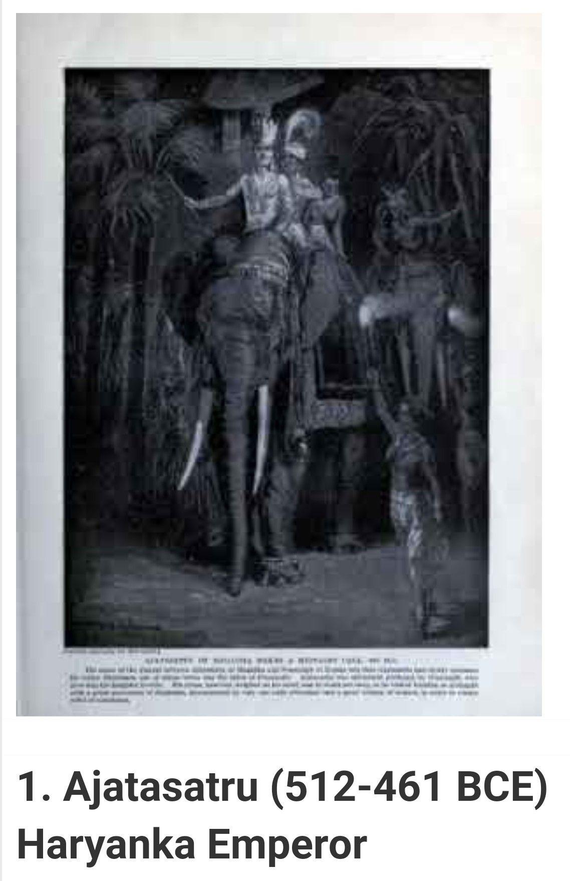 Pin P 684 Bce 413 Bce Haryanka Empire Of Magadh