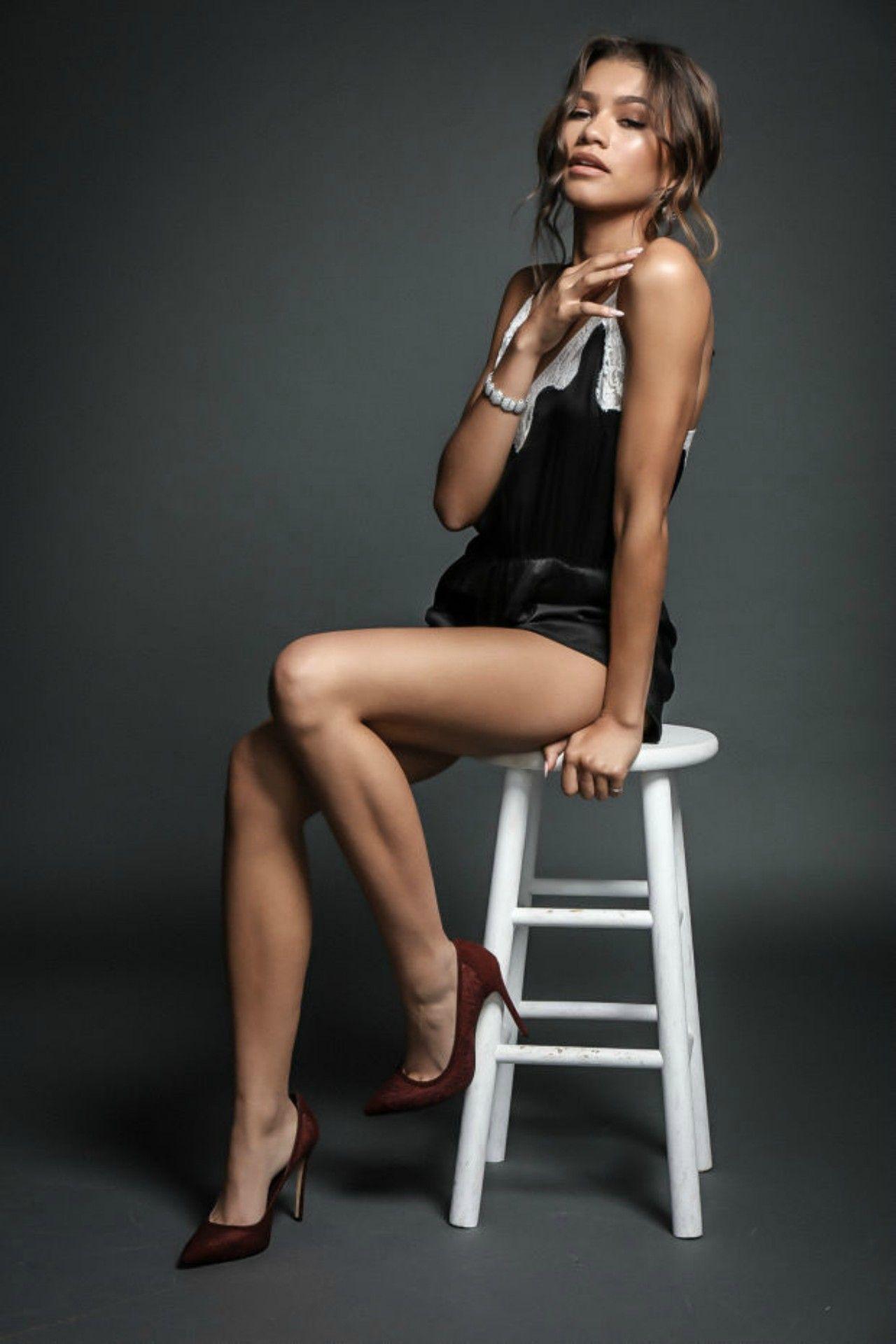 Watch Zendaya In Sheer Stockings Photo Shoot video