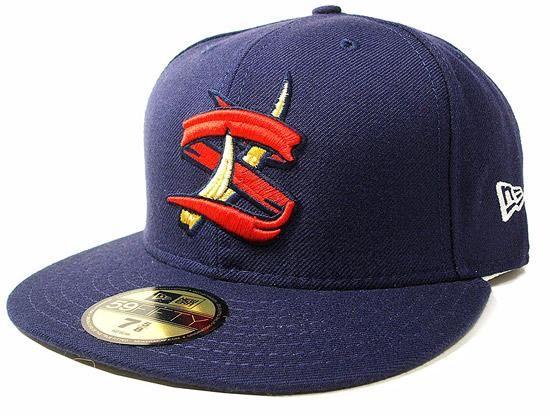 new era x milb state college spikes 59fifty fitted