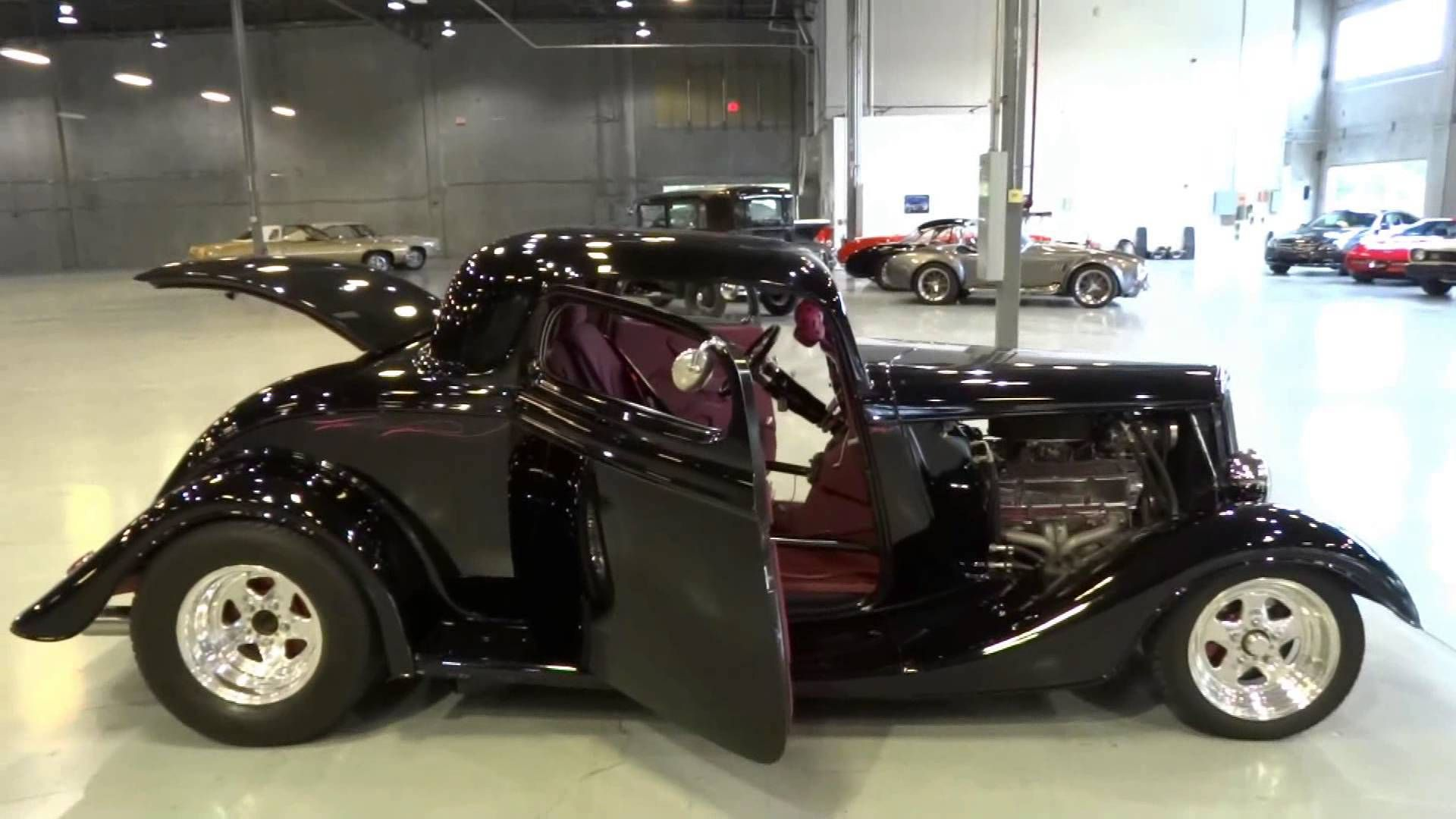 1934 Ford 3 Window Coupe ORD #0019 | Hot Rods & Street Rods ...