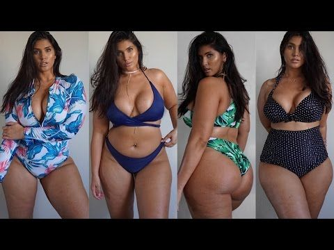 d999578310d 2017 Plus Size Swimwear Try On Haul