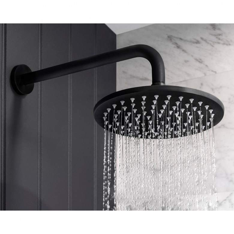Photo of Crosswater MPRO shower head – 200 mm or 300 mm – matt black