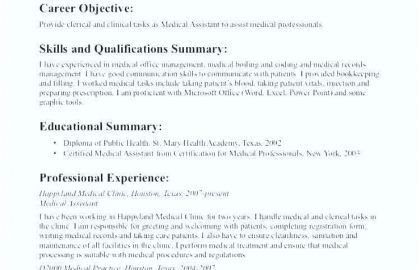Resume For Office Jobs And Objective For Clerical Resume