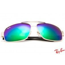 2a419e6fba Ray Ban RB8813 Aviator sunglasses with gold frame and green lenses ...