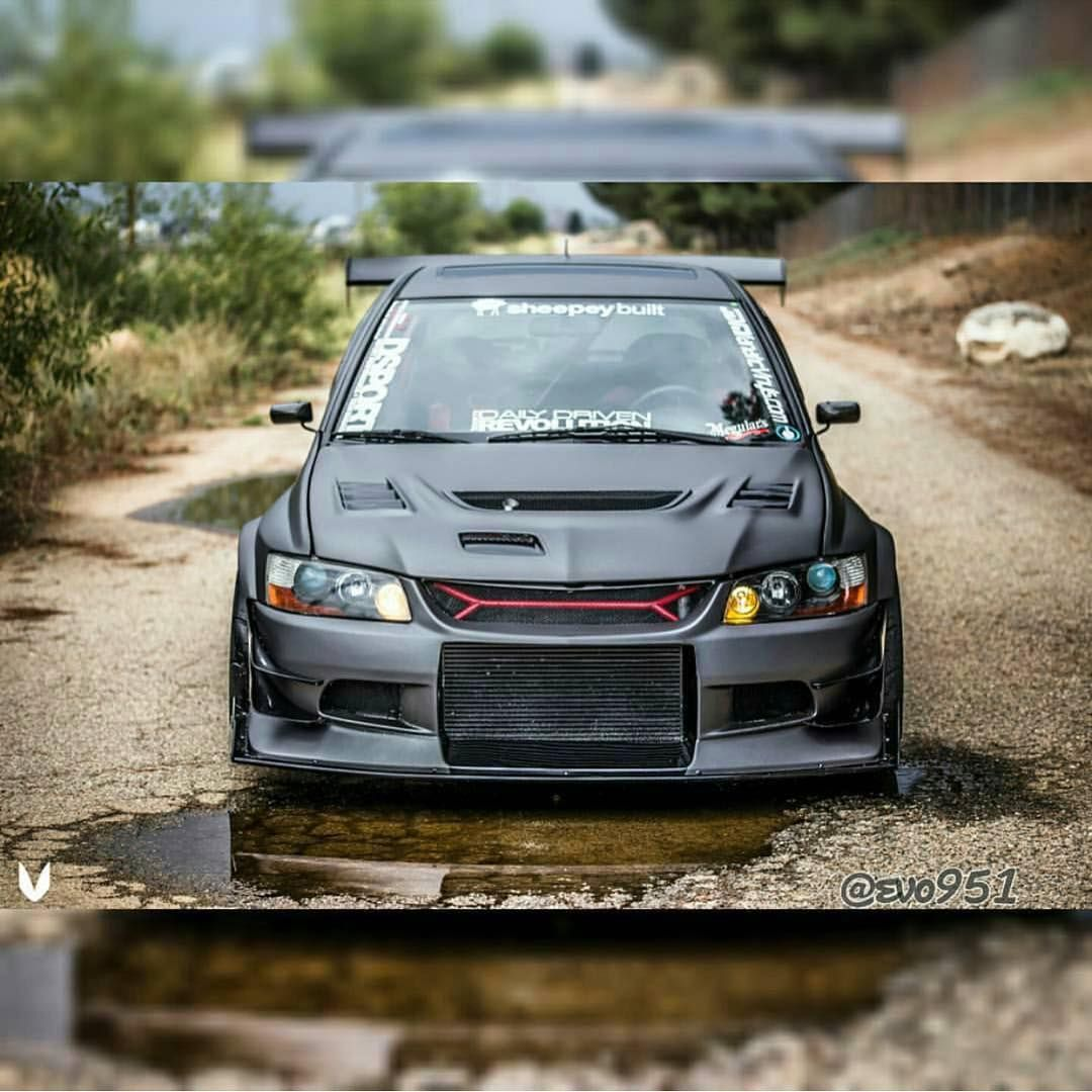 "Lancer Evo 9: ""Sick #evo _ Owner @evo951 Photo By @proto_photography"