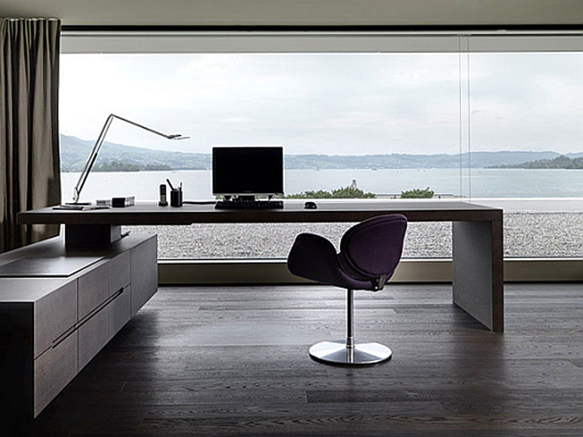 design ideas amazing modern home office with beach - Modern Office Design Ideas