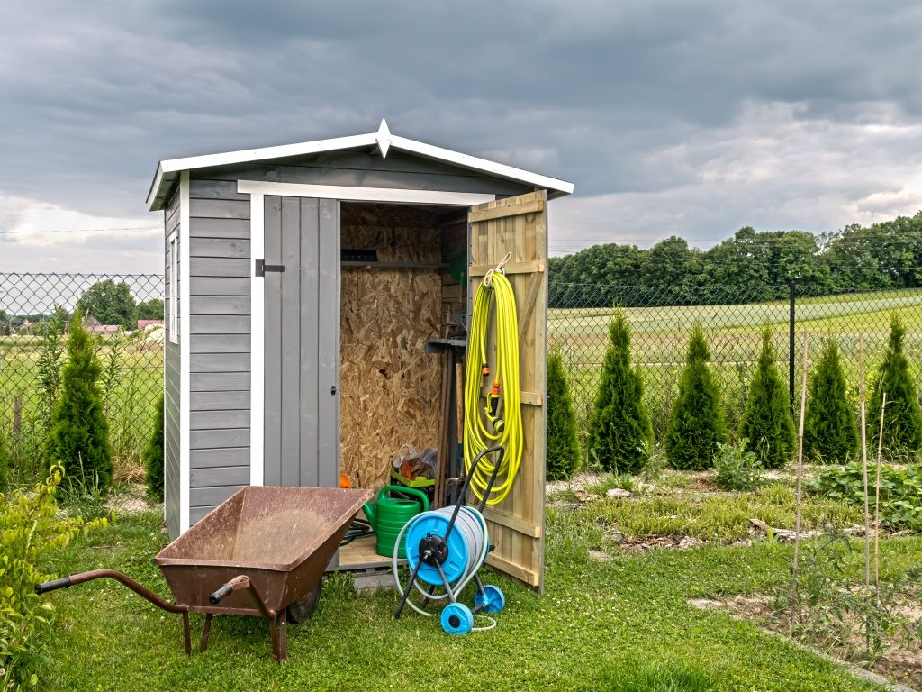 Shed Organization Ideas | Storage and Garden Sheds – Woodtex ...