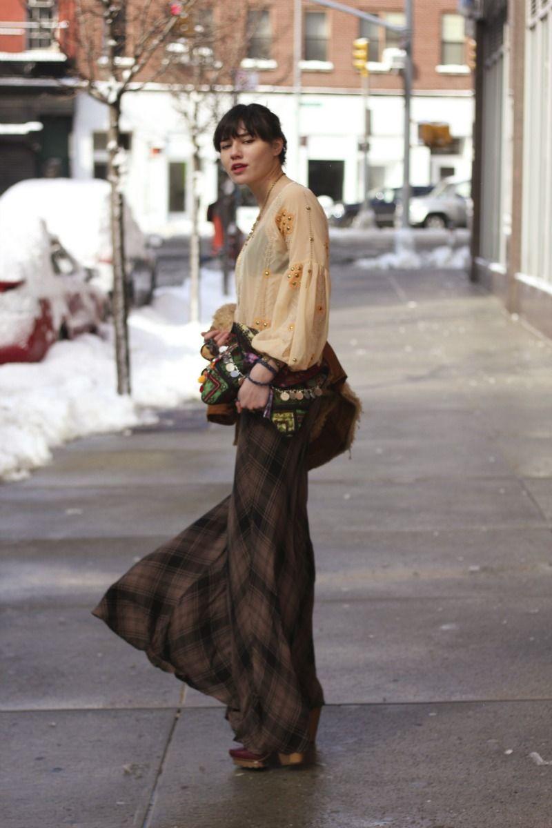 Cameron Plaid Maxi Skirt Fashion, Maxi skirt style, Style
